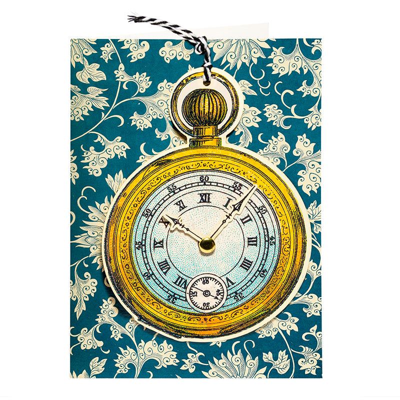 Madame Treacle Fandangle Card - Pocket Watch