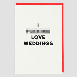 Card - Weddings