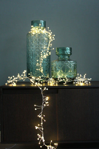 Pearl Cluster Lights - Battery Operated