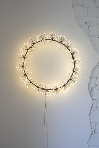 Starburst Wreath