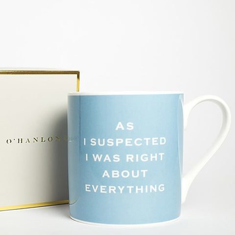 Susan O'Hanlon Mug - As Suspected