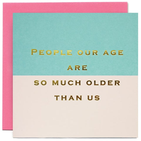 Card - People Our Age