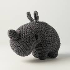 Hoooked DIY Crochet Kit - Rhino