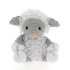 Hoooked DIY Crochet Kit - Lamb