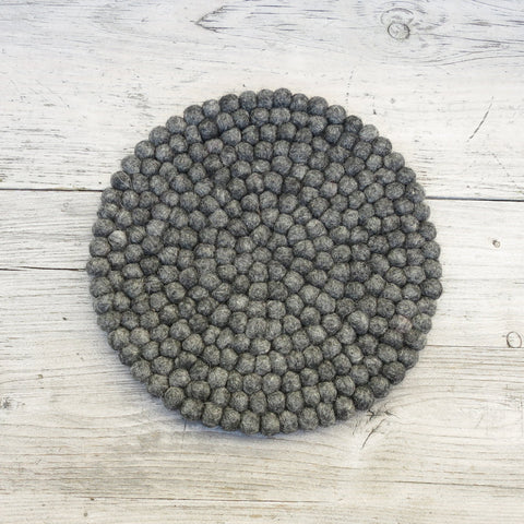 Handmade Eco Felt Ball Table Mat