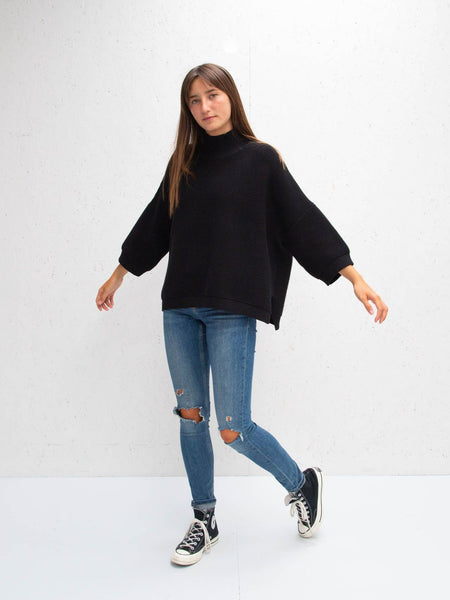 CHALK Vicki Black Jumper