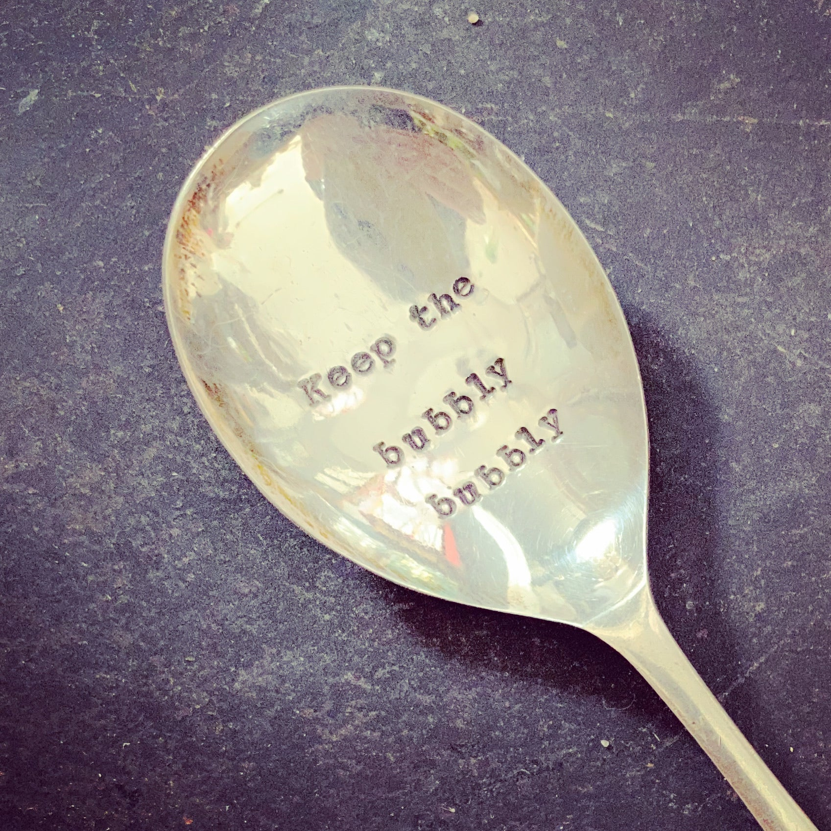 Vintage Spoon - Keep the Bubbly Bubbly