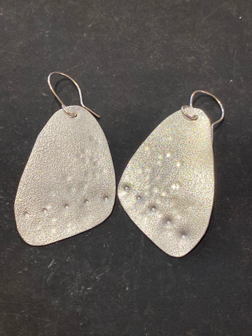 Sail Shaped Drop Earrings