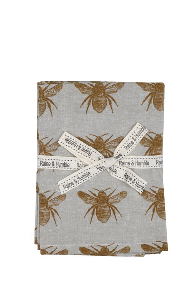 Raine & Humble Honey Bee Napkin - Set of 4