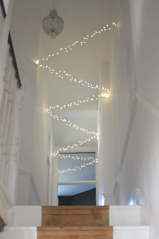 Silver Cluster  Light Chain - Mains 15m