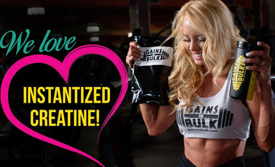 Why Instantized Creatine Monohydrate?