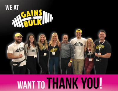 THE 2018 L.A. FIT EXPO & GAINS IN BULK