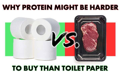 Why Protein Might Be Harder To Buy Than Toilet Paper