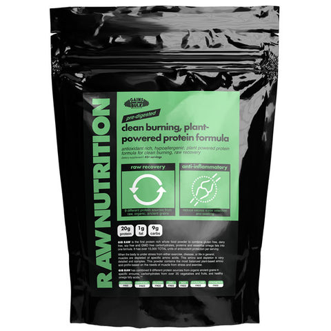 raw nutrition pre-digested plant based protein