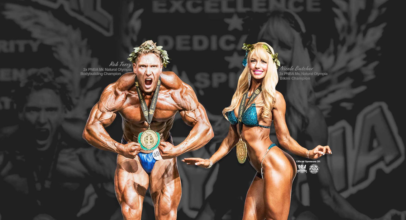 best natural bodybuilder rob terry nicole butcher
