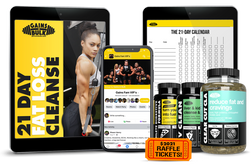21 Day Fat-Loss Cleanse Challenge + Supplements