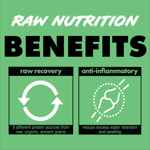 RAW NUTRITION | Clean Burning, Plant Powered Protein