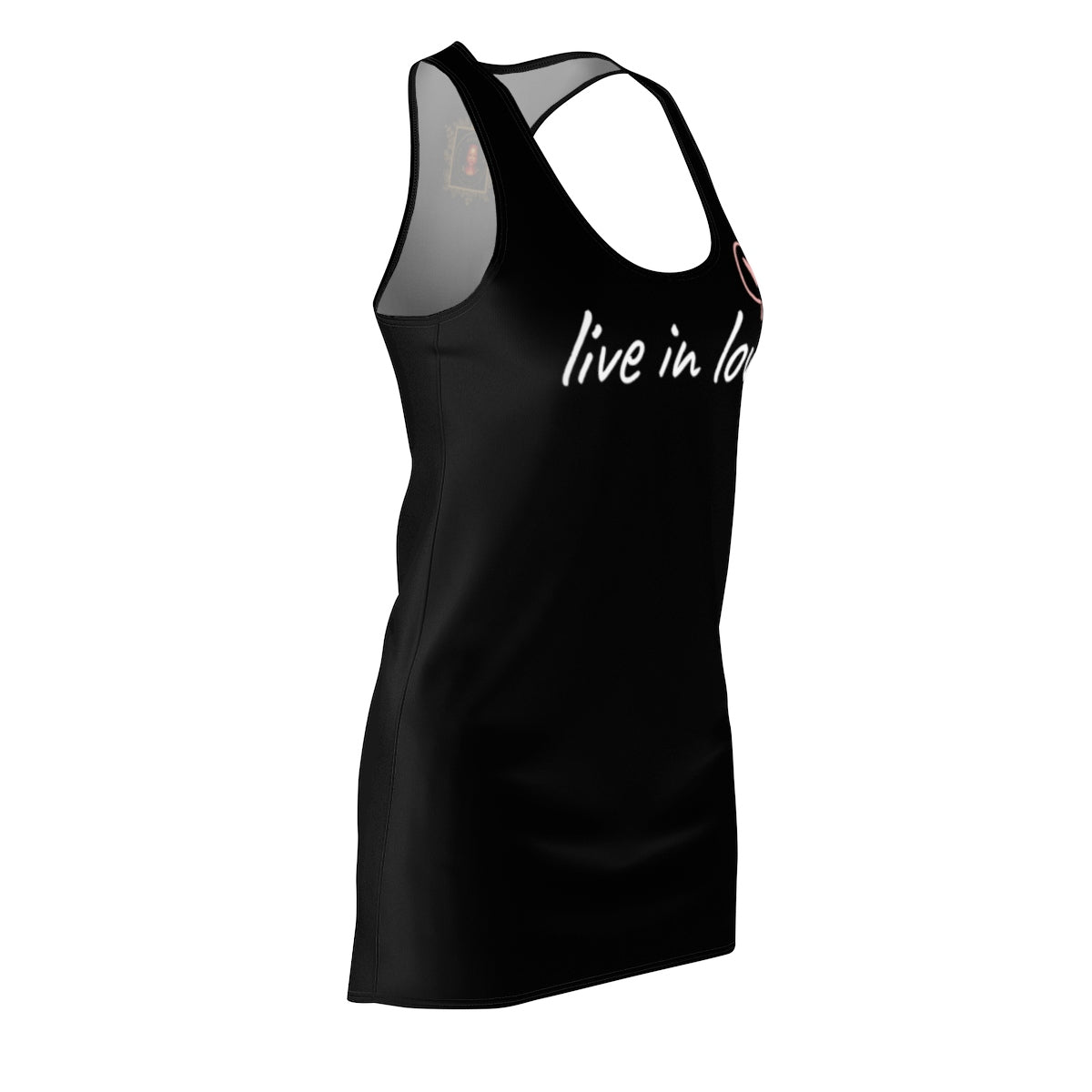 Live in Love Dress Black - Moonseeker of Light Guardian