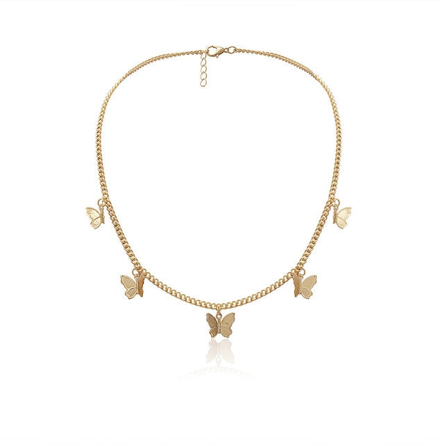 Cute Butterfly Choker
