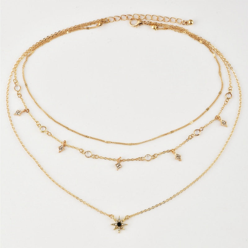 Multilayered Kaitlyn Necklace