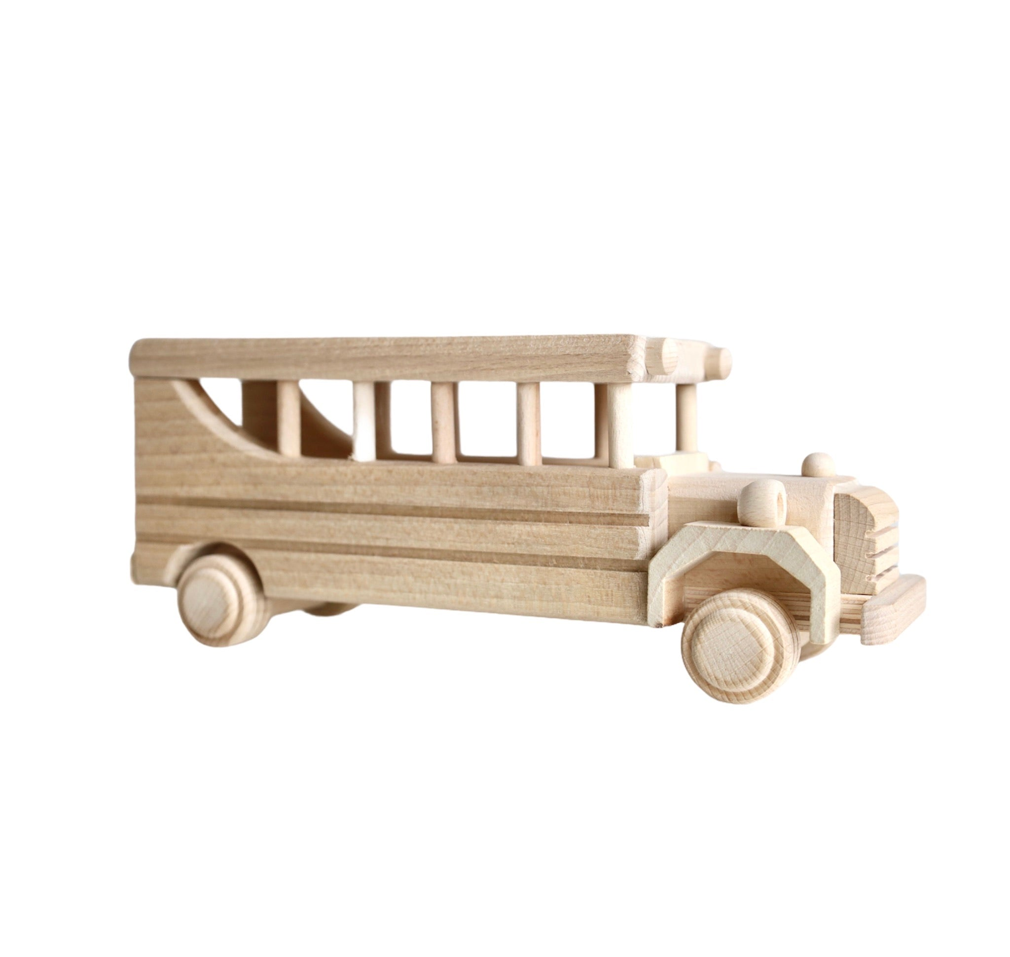 Bus - wooden toy