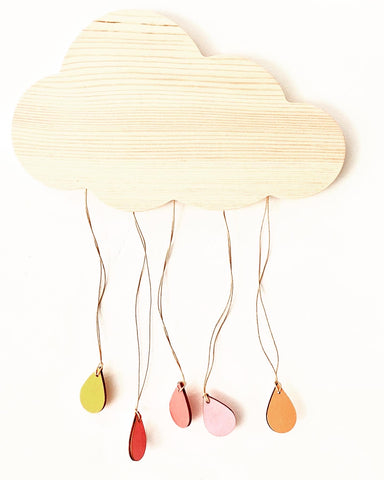 Wooden Cloud - Large
