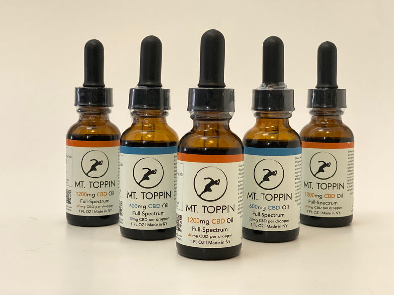 How much CBD oil should I take as a runner?