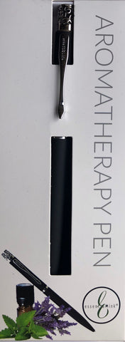 The Essential Ink Aromatherapy Pen  Black