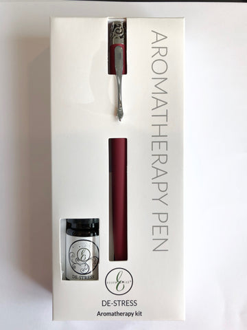 Essential Ink Pen and Oil Gift Set DE-STRESS