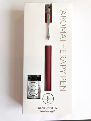 Essential Ink Pen and Oil Gift Set DEAR UNIVERSE
