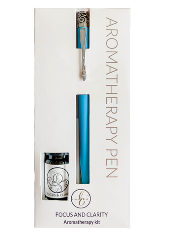 Essential Ink Pen and Oil Gift Set FOCUS
