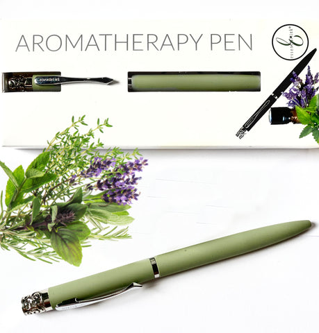 Pens that make Scents Essential Ink Pen SAGE GREEN