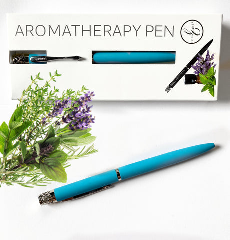 Pens that make Scents Essential Ink Aromatherapy Pen  Turquoise
