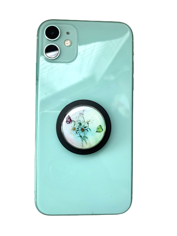 Daisy's and Butterflies Aromatherapy POP-Locket Phone grip