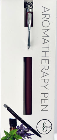 The Essential Ink Aromatherapy Pen Bordeaux Red