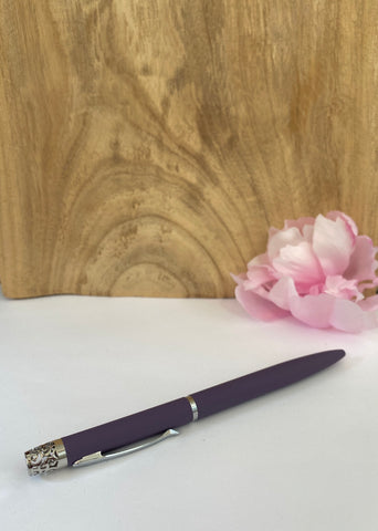 Essential Ink Aromatherapy Pen PURPLE