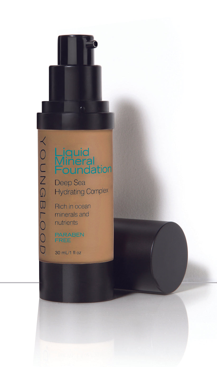 LIQUID MINERAL FOUNDATION - Nutmeg (prev called Caribbean)