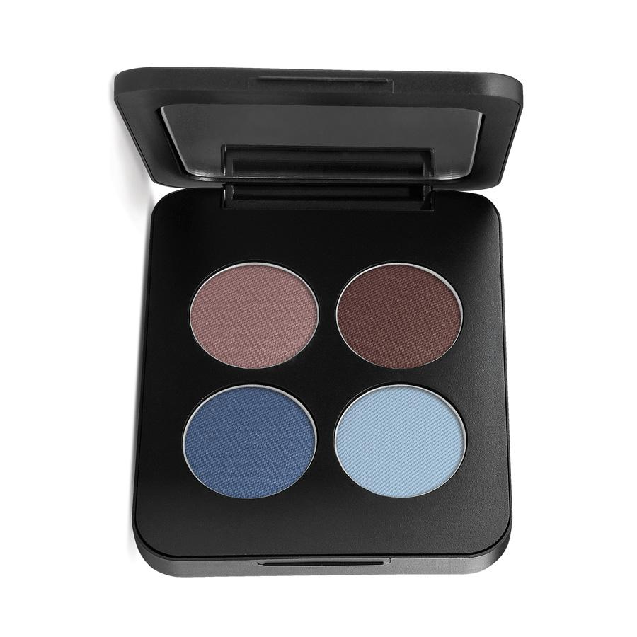 PRESSED MINERAL EYESHADOW QUAD - Glamour Eyes
