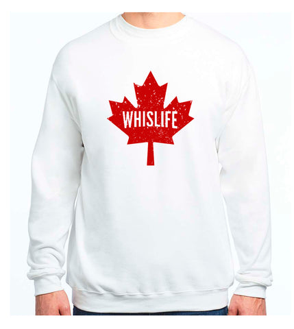 Unisex Crewneck Sweatshirt - Maple Leaf Logo