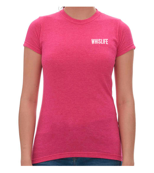"Women's Short Sleeve Fitted T-Shirt - 2"" Solid Logo"