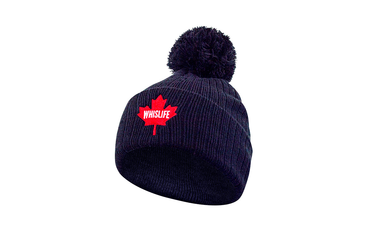 Ribbed Pom Toque - Maple