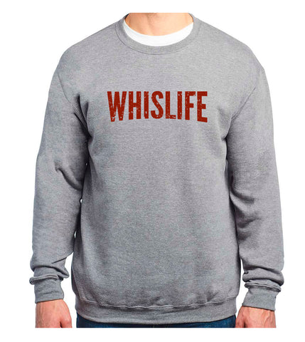 Unisex Crewneck Sweatshirt - Distressed Logo