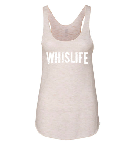 "Women's Tank - 10"" Distressed Logo"