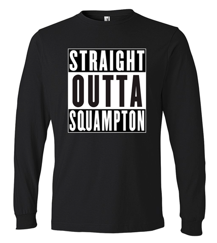 Unisex Long Sleeve T-Shirt - STRAIGHT OUTTA SQUAMPTON