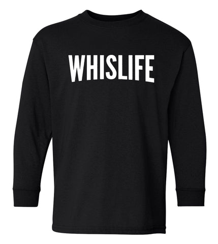 Youth Long Sleeve T-Shirt - Solid Logo