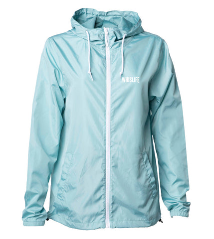 Unisex Lightweight Windbreaker Jacket - Solid
