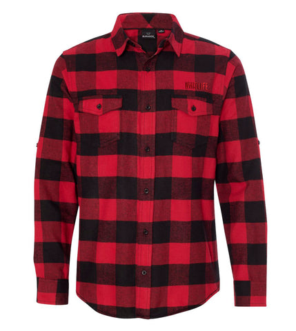 Men's Woven Plaid Flannel Shirt