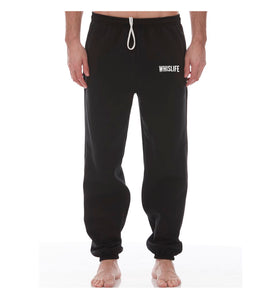 Men's Pocketed Sweat Pants - Cuffed Ankle