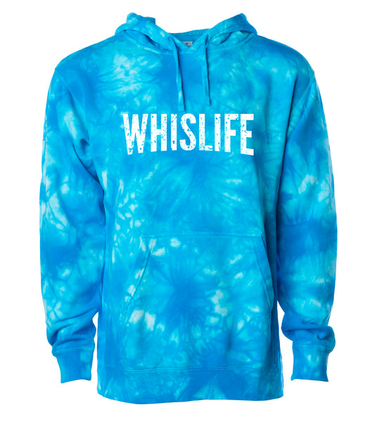 Unisex Midweight Tie Dyed Hoodie