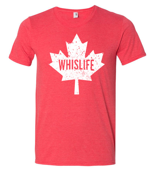 Unisex Short Sleeve Triblend T-Shirt - Maple Leaf Logo
